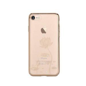 Devia kryt Swarovski lotus iPhone 7/8 champagne gold