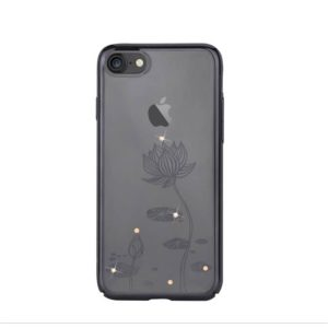 Devia Swarovski Lotus kryt Apple iPhone 7/8 Plus gun black