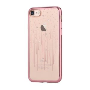 Devia Swarovski Meteor kryt Apple iPhone 7/8 rose gold