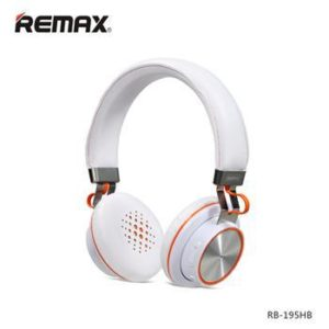 Remax RB_195HB Stereo Bluetooth Headsez White