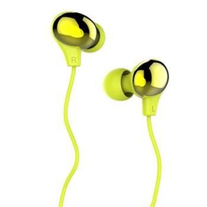 USAMS Stereo Headset 3,5mm Greem/Gold