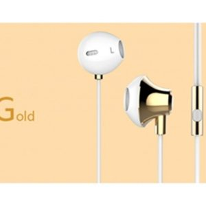 USAMS Stereo Headset 3,5mm Gold