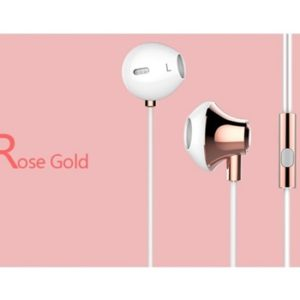 USAMS Stereo Headset 3,5mm Rose Gold