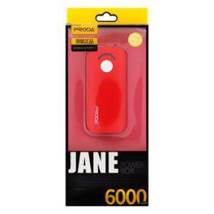 Remax Jane V3 PowerBank 6000mAh Li-Pol red