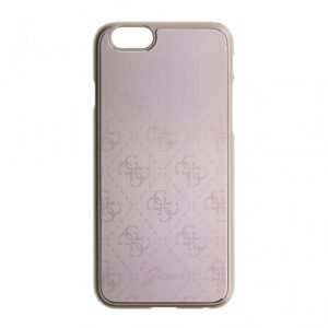 Guess 4G kryt Apple iPhone 6 6S metallic hard pink d6f3d429df8