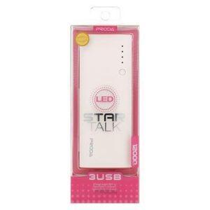 power Bank 12000mAh Li-Pol White/Pink (EU Blister)