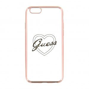 Guess kryt  iPhone 5/5S/SE gold rose