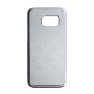 Guess Guess Aluminium Pouzdro Silver Metalic Samsung  S7