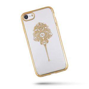 Beeyo Elegant kryt Apple iPhone 5/5S gold