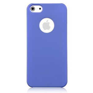 DEVIA Rubber kryt Apple iPhone 5/5S/SE blue