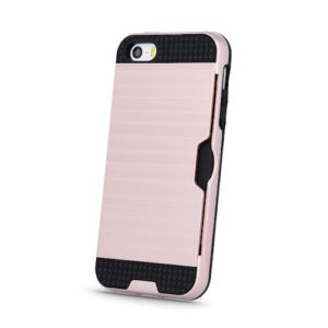 Defender Card kryt Apple iPhone 5/5S/SE rose gold