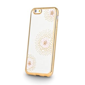 Beeyo Flower kryt Apple iPhone 5/5S/SE gold