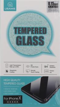 Tvrzené sklo Usams pro iPhone X