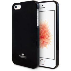 Jelly case kryt Apple iPhone 5/5S/SE – black