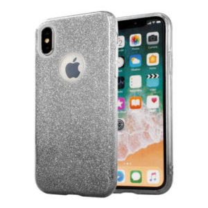 Bling TPU pro Apple iPhone 6/6S černý