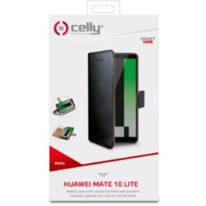 Knížkové pouzdro Celly pro Huawei Mate 10 lite černé