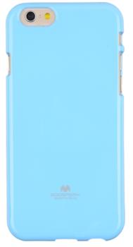 JellyCase TPU pro Samsung Galaxy Note 4 modrá