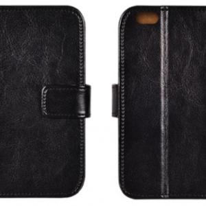 Kožené knížkové pouzdro pro Huawei P9 Lite mini černé