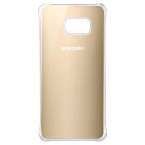 Originální zadní kryt Glossy Cover pro Samsung Galaxy S6 Edge+ zlatý