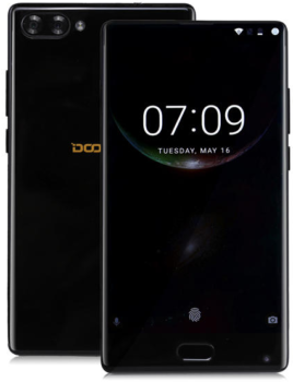Doogee MIX DualSIM 4+64GB Dazzle Black