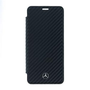Mercedes Book Case Dynamic Black pro Samsung G960 Galaxy S9