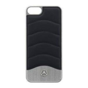 Mercedes Hard Case Wave III Aluminium Blue pro iPhone 5S/SE