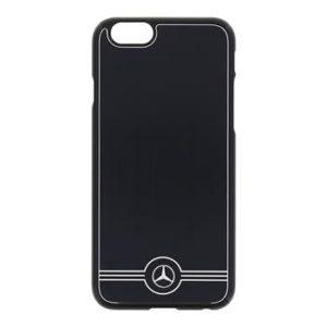 Mercedes Zadní Kryt Alu Black pro iPhone 6/6S