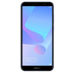 Huawei Y6 Prime 2018 DualSIM gsm tel. Blue +Tvrzené sklo ZDARMA