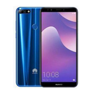 Huawei Y7 Prime 2018 DS Blue+tvrzené sklo ZDARMA
