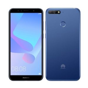 Huawei Y6 Prime 2018 DS Blue + tvrzené sklo ZDARMA