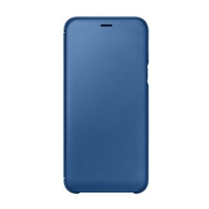 Originální Samsung Wallet Cover pouzdro na Samsung Galaxy A6 dark blue