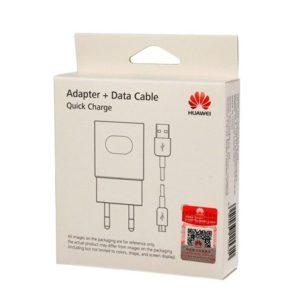 Huawei Original Cestovní Dobíječ AP32 + microUSB Dat. Kabel White
