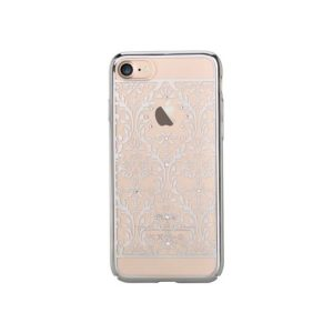 Devia Swarovski Baroque kryt Apple iPhone 7/8 silver