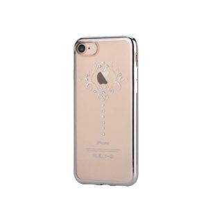 Devia Swarovski Iris kryt Apple iPhone 7/8 silver