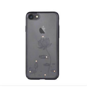Devia Swarovski Lotus kryt Apple iPhone 7/8 Plus gun black