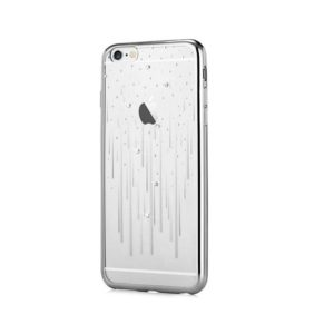 Devia Swarovski Meteor kryt Apple iPhone 6/6S silver