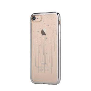Devia Swarovski Meteor kryt Apple iPhone 7/8 silver
