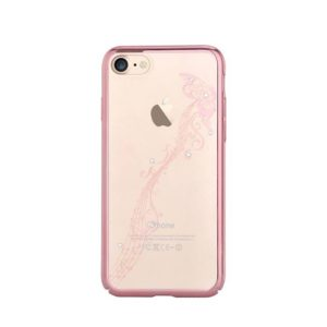 Devia Swarovski Papillon kryt Apple iPhone 7/8 rose gold