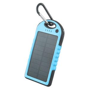 Forever PB-016 solární 5000mAh blue