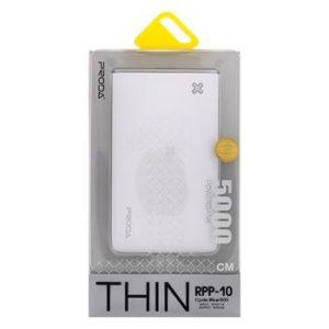 Remax Thin RPP-10 PowerBank 5000mAh Li-Pol White/Silver