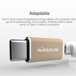 Nillkin Adapter microUSB/Type C (EU Blister) Gold