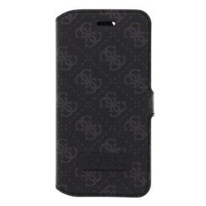 Pouzdro Guess GUFLBKP6TBK Guess Saffiano iPhone 6/6S Black