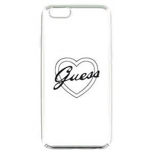 Guess kryt  iPhone 5/5S silver