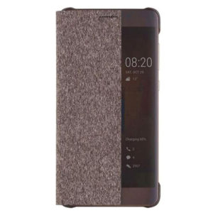 Huawei Original S-View Pouzdro Brown pro P10