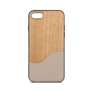 Beeyo Wave TPU kryt  iPhone 5/5S/SE béžový
