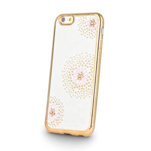 Beeyo Flower kryt Apple iPhone 5/5S/SE gold