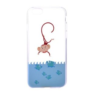 DEVIA Vango kryt Apple iPhone 6/6S monkeys