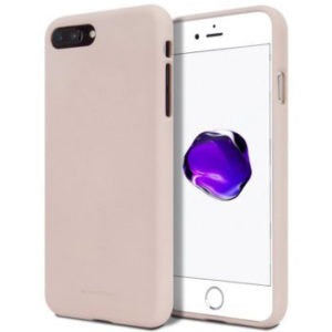 Jelly case kryt Apple iPhone 6/6S – pink sand