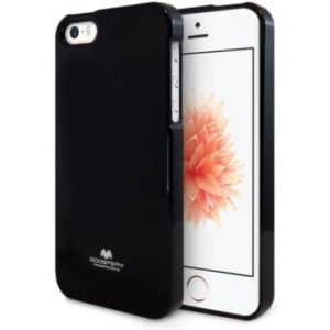 Jelly case kryt Apple iPhone 5/5S/SE – black