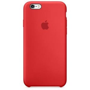 Apple Silicone Case iPhone XS MAX red